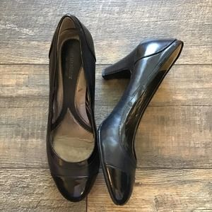 *Sale* Naturalizer Bohemia Two Toned Leather Pumps